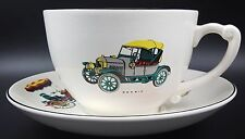 Vintage T.G.Green&Co Ltd. Large Cup & Saucer with Veteran Cars; Morris, Ford etc