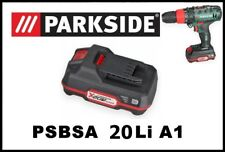 2Ah Bateria taladro Parkside 20v Li Battery Drill PAP 20 driver PSBSA 20-Li A1