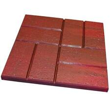 Emsco Resin Patio Pavers 16 in. x 16 in. Lightweight Brick Pattern (12-Pack)