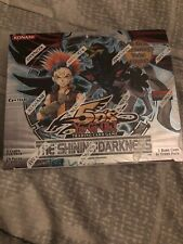 Yugioh The Shining Darkness Booster Box Sealed!! FACTORY ERROR!! 1st Ed Packs