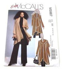 McCalls 5987 Sewing Pattern Misses Unlined Coat Size BB  8 through 14 Uncut