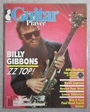 GUITAR PLAYER MAGAZINE 1986 MARCH BILLY GIBBONS ZZ TOP BILLY SHEEHAN LAGRENE