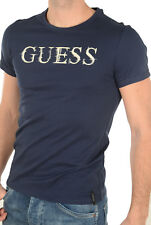 Tee shirt Guess manches courtes Homme M72I56 Navy