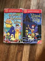 The Wacky Adventures Of Ronald McDonald VHS Lot Of 2 Scared Silly Grimace Island