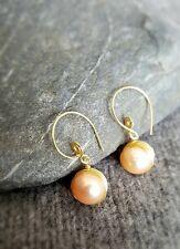 HANDMADE! Genuine Pearl Earrings 20112