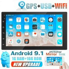 "Autoradio Android 9.1 2Din Radio de coche estéreo 7"" GPS NAVI MP5 Wifi USB 1+16G"
