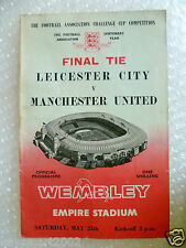 1963 FA CUP FINAL - LEICESTER CITY v MANCHESTER UNITED (Org*)