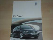 51277) VW Passat Prospekt 10/2007