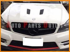 M-BENZ C204/W204 C-Class Coupe/Sedan Gloss Black C63 Look Front Grille 2008-2013