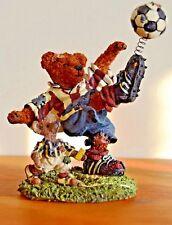 Rocky Bruin.Score, Score, Score ~ Boyds' Bearstone Collection~ #228307 ~ Mib