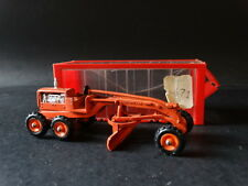 Vintage Meccano Mini Dinky Toys Caterpillar Grader Road Construction #99 Diecast
