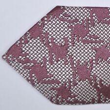100% new Tom Ford Silk Tie Mauve-Pink Silver Design Genuine Necktie 150990