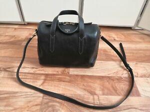Fossil Leder Tasche Schwarz Sydney-Satchel