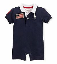 Ralph Lauren Baby Boys' One-Piece Clothes