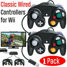1 Pack Wired NGC Controller Gamepad for Nintendo GameCube GC & Wii U Console USA