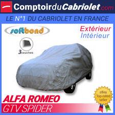 Housse Alfa Romeo GTV Spider - SoftBond® : Bâche de protection mixte