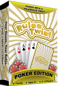 Rules Twist Poker Playing Cards Custom House Rules Deck