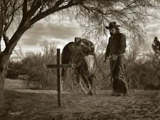 Goodbye Old Friend Barry Hart Art Print Western Horse Prayer Cross Poster 13x19
