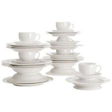 Maxwell & Williams Round Kaffee- und Tafelset 30-teilig, mit Rand, Geschenkbox,
