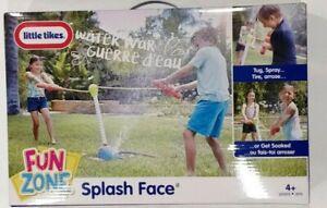 Little Tikes Fun Zone Splash Face Soaked Spray Water Toy Outdoor Play & Fun NEW