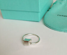 Tiffany & Co. Frank Gehry Torque Bead Ring in Sterling Silver Size 8.5