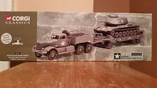 Corgi Classics US Army Diamond T Tank Transporter+M60 A1 Medium Tank #55101 1/50