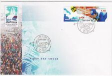 Doping Scandal Finland Cross-Country Skiing World Championships 2001 FDC Lahti