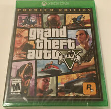 Grand Theft Auto Five PREMIUM EDITION XBOX One Game (2019) Sealed BRAND NEW OG
