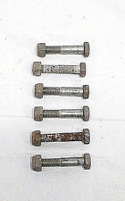 1984 84 Husqvarna 125 250 500 CR 125CR OEM Rear Wheel Sprocket Bolts Nuts (6)