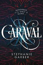 Caraval by Stephanie Garber (2017, Hardcover) Book HC HB DJ Hardback Carnival