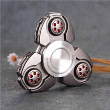 3D EDC Hand Fidget Spinner Stress Reliever Titanium Alloy Finger Focus Toy