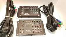 2 CE LABS Pro-Gr Component Video/Audio Distribution Amplifier AV400COMP Set of 2