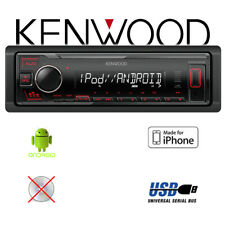 Kenwood KMM-205 - MP3 | USB | iPhone RADIO Android BASS BOOST EQ Cinch Autoradio
