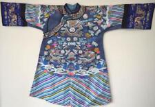 Chinese Qing Dynasty 9 Dragon Small Kesi Robe Lot 52
