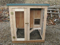 Chicken coop plan & material list, The Chicken Hutch