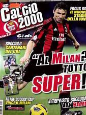 Calcio 2000 n°162 2011 Ryan GIGGS Mark Van Bommel Milan - Centenari del Gol