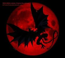 DEVILMAN crybaby Original Soundtrack Japan Anime Music CD SVWC70327 From Japan