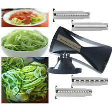 Fast Fruit Vegetable Slicer Veggie Twister Cutter Slicer Peeler Kitchen Tool Hot