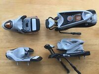 Rossignol (Look) Saphir 90 Ski Bindings Grey NEW