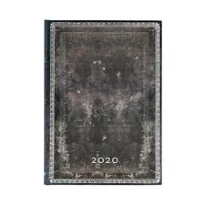 Paperblanks 2020 Diary Midnight Steel Grande Week-to-View Vertical Appointments