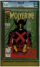 WOLVERINE #29 CGC 9.8 MINT WHITE PAGES SCARCE IN 9.8 1990 KARMA APPEARANCE BLUE