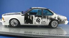 Art car-BMW 635 CSI-Robert ruido montaña 1986 - 1:18 - en OVP-Minichamps