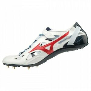 Mizuno Track and Field Spike CHRONO INX U1GA2001 White x red x navy