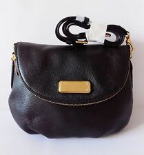 NWT Marc by Marc Jacobs New Q Natasha Leather Crossbody Bag ~Black ~M0009408