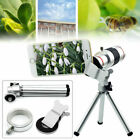 18X Optical Zoom Camera Lens Kit Monocular Telescope w/ Tripod For Cell Phone US