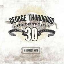 GEORGE THOROGOOD - Greatest Hits - 30 Years Of Rock - CD - NEU/OVP