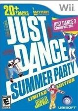 NINTENDO WII GAME JUST DANCE SUMMER PARTY BRAND NEW & SEALED