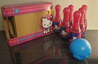 Hello Kitty Bowling Skittles Set Indoor & Outdoor 2012 Girls Toys