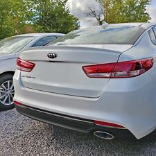 PAINTED SPOILER Wing TAPE ON INSTALL Factory Style For: KIA OPTIMA 2016-2018