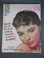 SCREEN STORIES Movie Star Magazine Issue October 1955 Joan Collins Cover